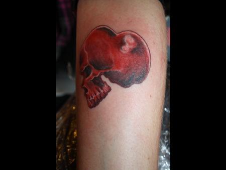 Herz  Schädel  Heart Color