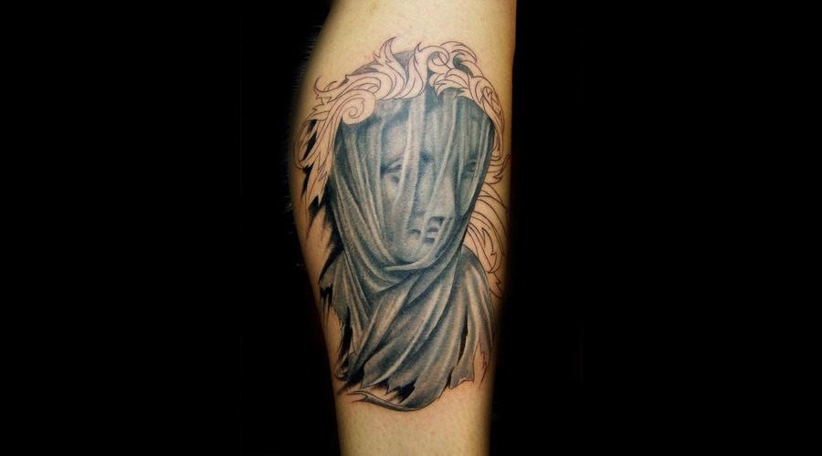 Veiled Lady Tattoo