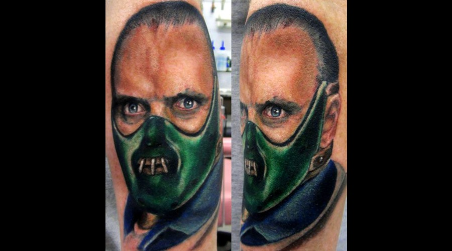 Anthony Hopkins  Hannibal Lectar Color Forearm