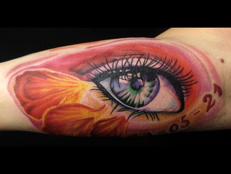 Eye Tattoo Color