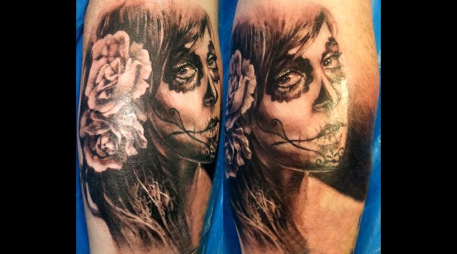 Muerta  Katrina  Masks Black White