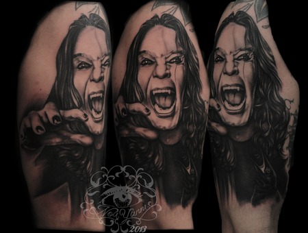 Ozzy  Music   Black Grey