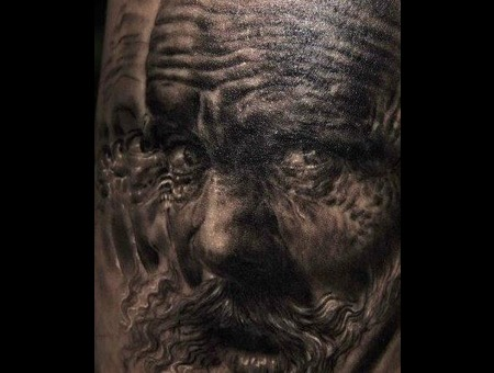 Tattoo By Mark Powell Portraits 