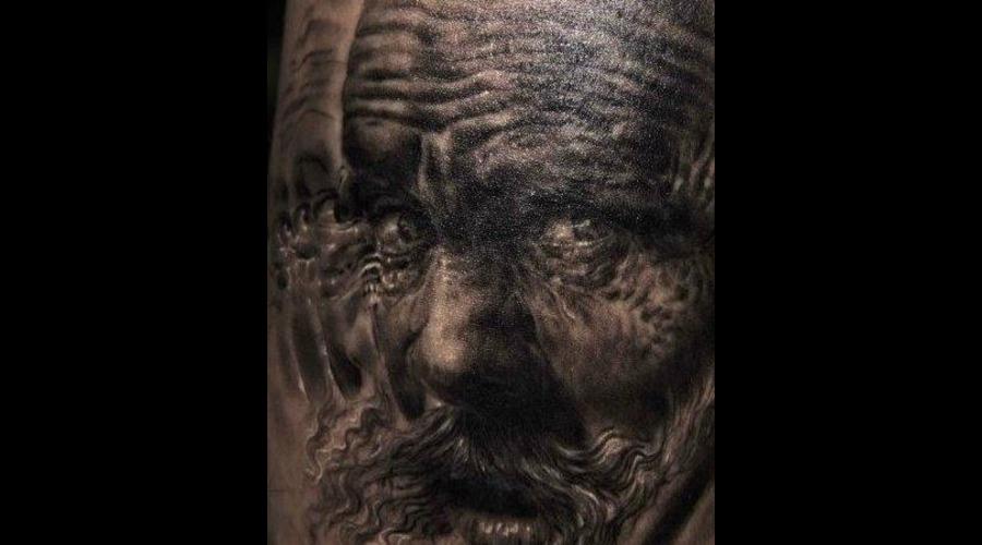 Tattoo By Mark Powell Portraits   Black White