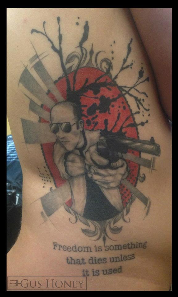 Certified artist for Hunter s thompson tattoos