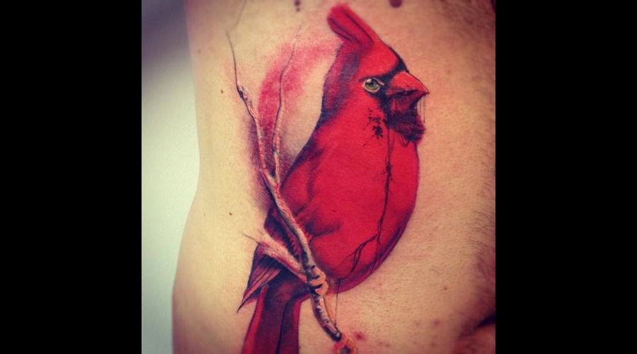 Tattoo By Angus Wood  Colour Colour Bird Color