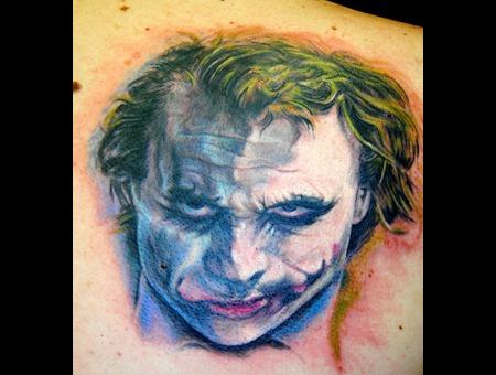 Portrait Realism Realistic  Color Portrait Comic Character The Joker Joker  Color