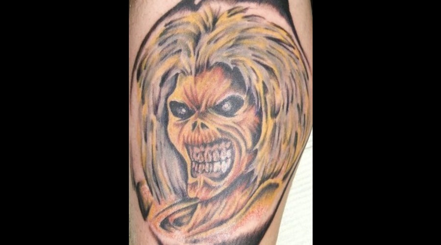 Eddie  Iron Maiden. Color