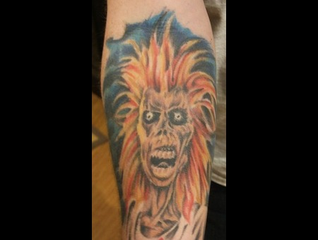 Iron Maiden  Eddie. Color