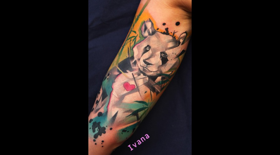 Panda Bear Color Arm