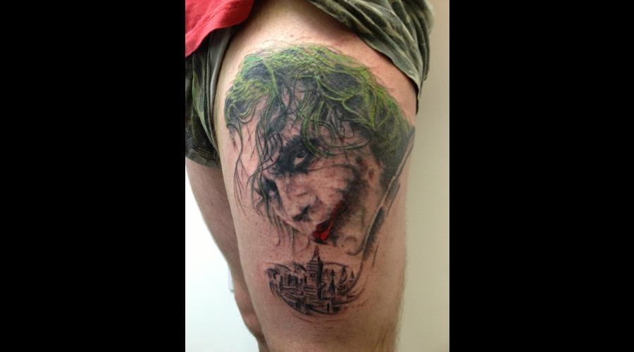 Joker Portrait Color