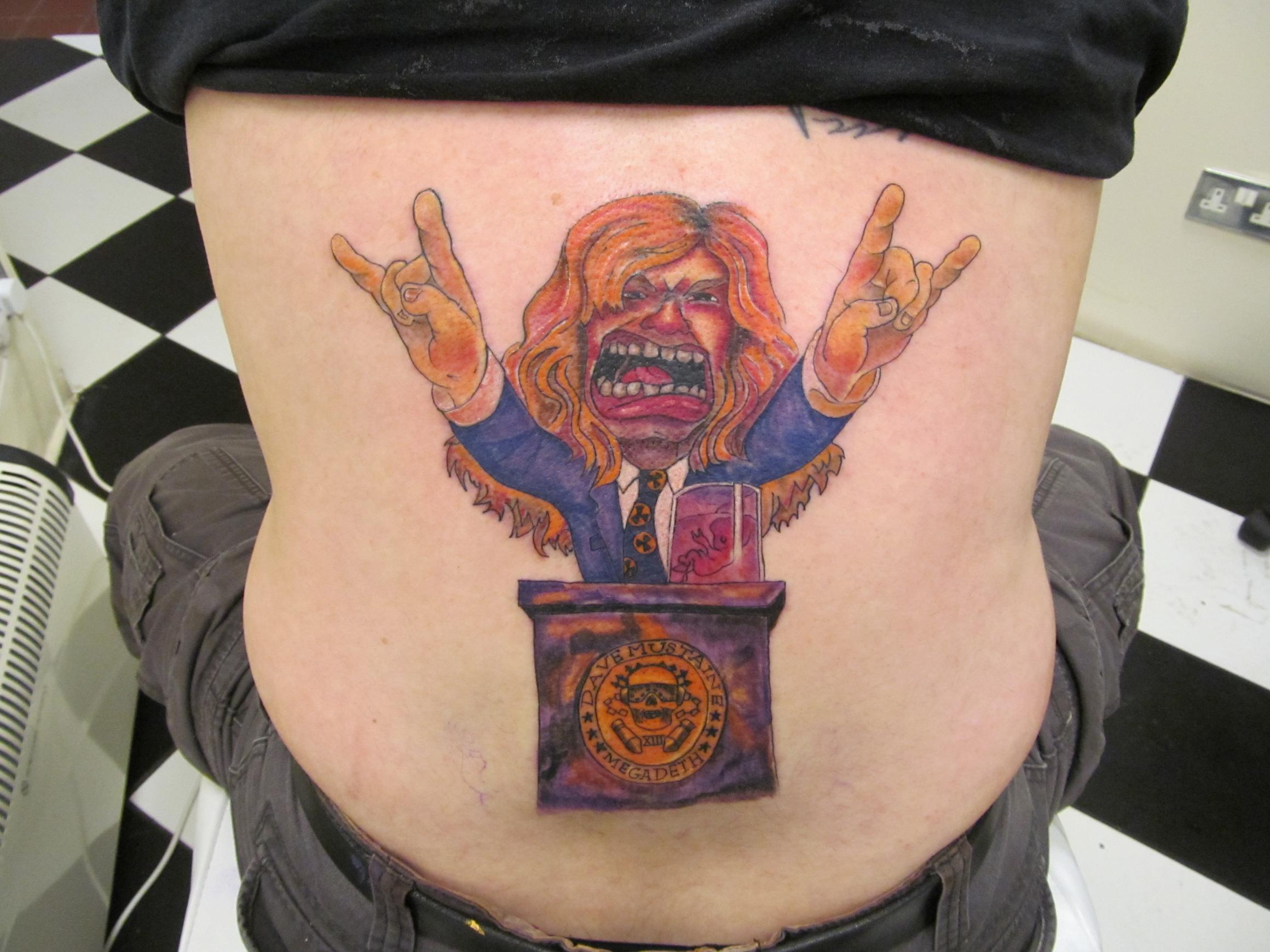 Megadeth Tattoo Designs