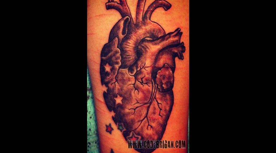 Heart   Black White