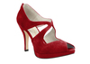 Beth anne 4s dark red suede image 3 high res