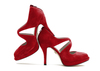 Beth anne 4s dark red suede image 1 high res