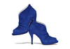 Nasrin 4 royal blue suede image 2 low res