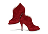 Nasrin 4 red suede image 2 low res