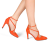 Maria 4 flame orange suede 1 web