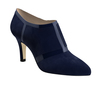 Cynthia 2 navy blue suede navy blue patent 2