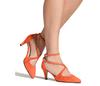 Maria 2 flame orange suede 7 web