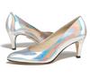 Sandy 2 holographic silver metallic 6 web