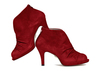 Nasrin 2 red suede image 1 low res