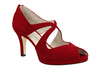 Beth anne 2s dark red suede image 3 low res