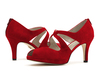 Beth anne 2s dark red suede image 6 low res