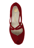 Beth anne 2s dark red suede image 7 low res