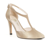 Christian 4 champagne metallic suede image 4 low res