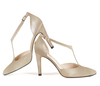 Christian 4 champagne metallic suede image 8 low res