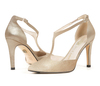Christian 4 champagne metallic suede image 7 low res