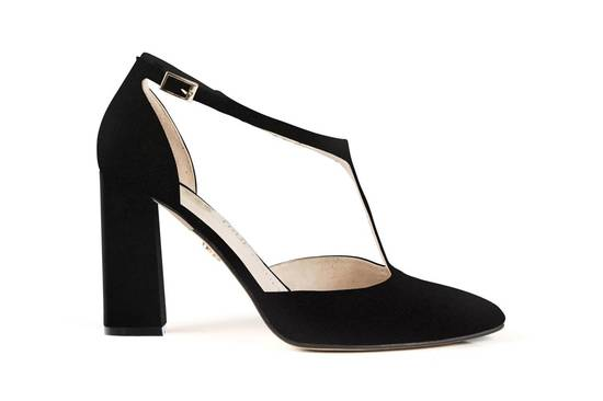 Christian block 4 black suede 2   low res