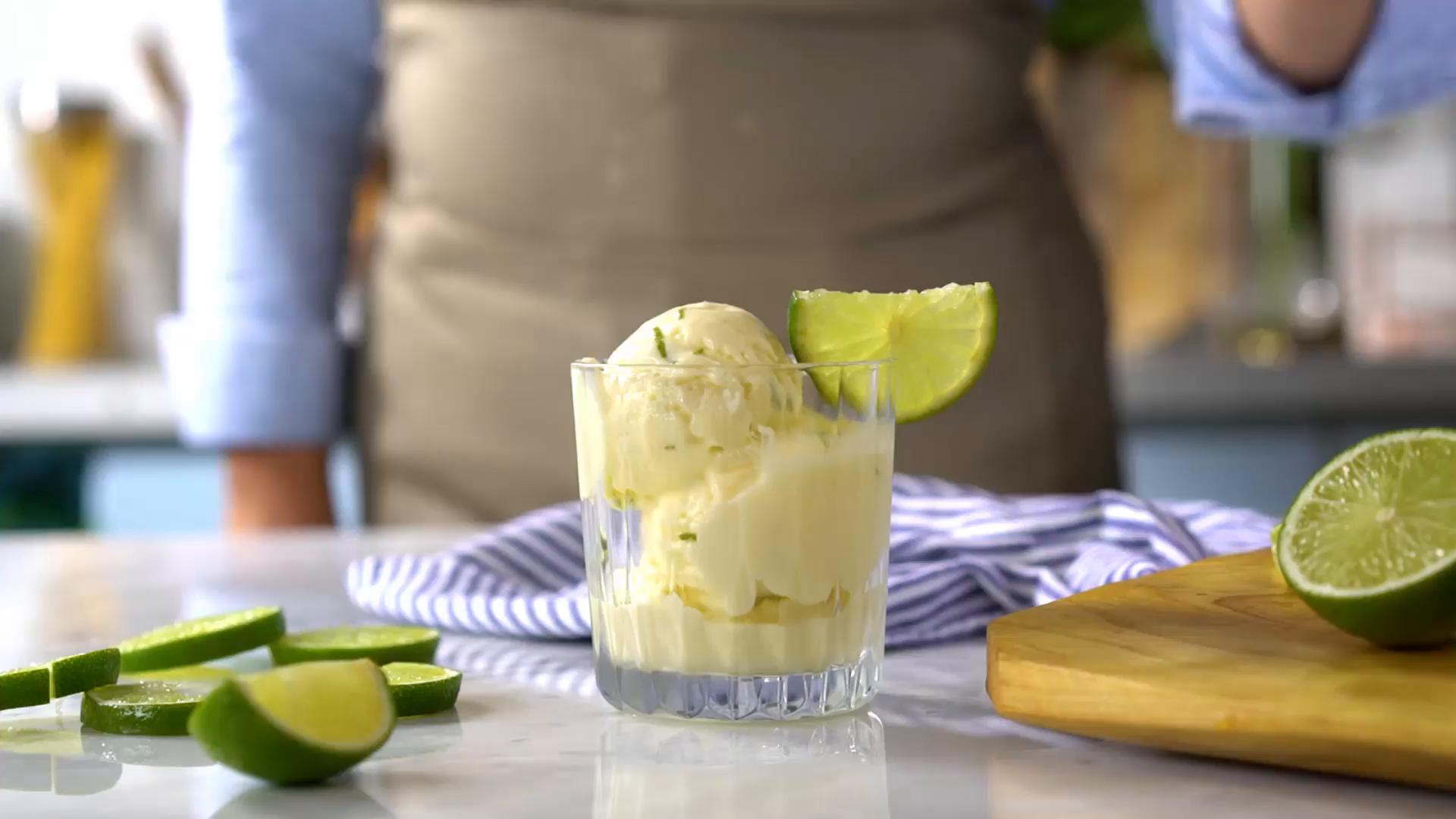 Resultado de imagem para Sorvete de Limão tastemade