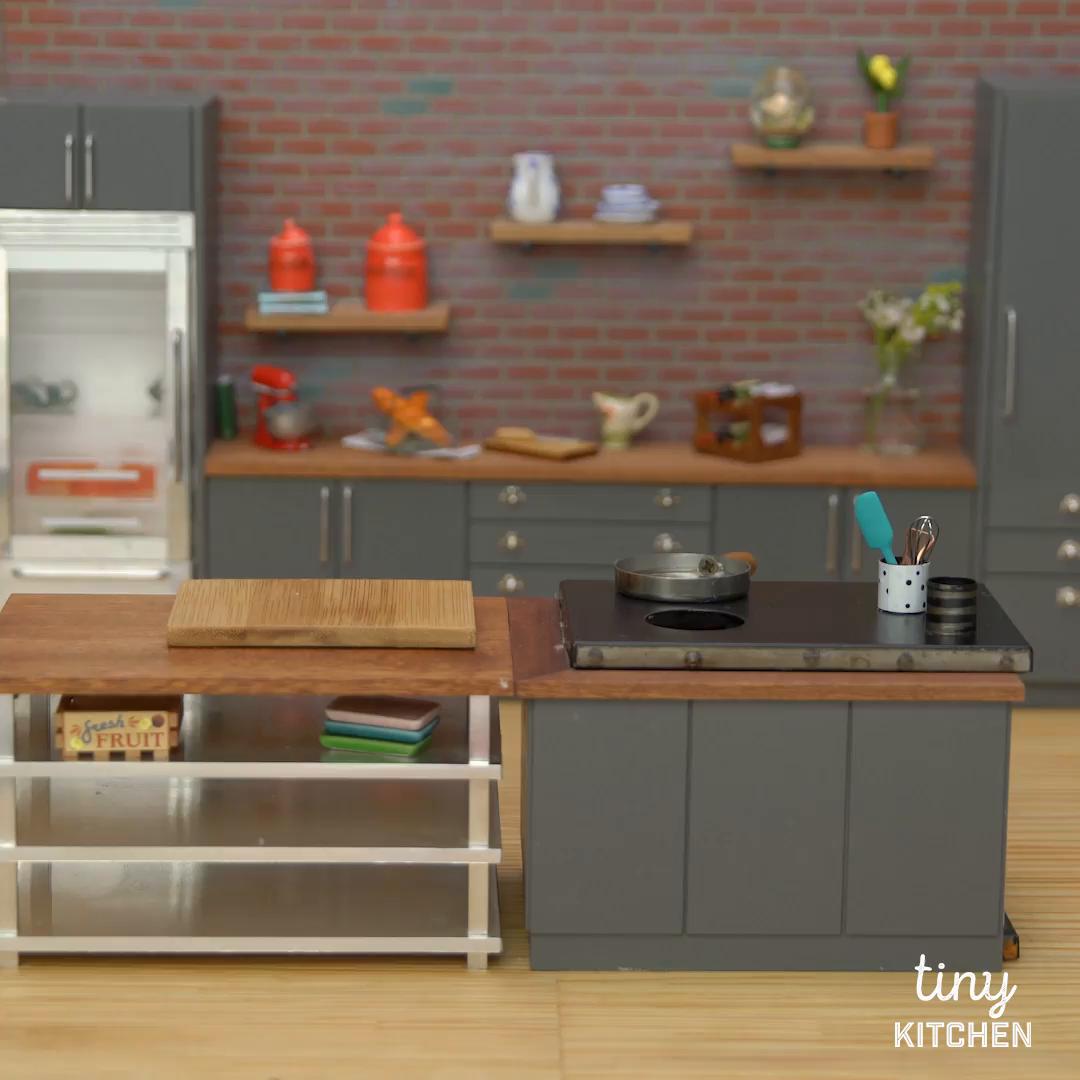 tiny old fashioned diner breakfast tiny kitchen tastemade - Tiny Kitchen