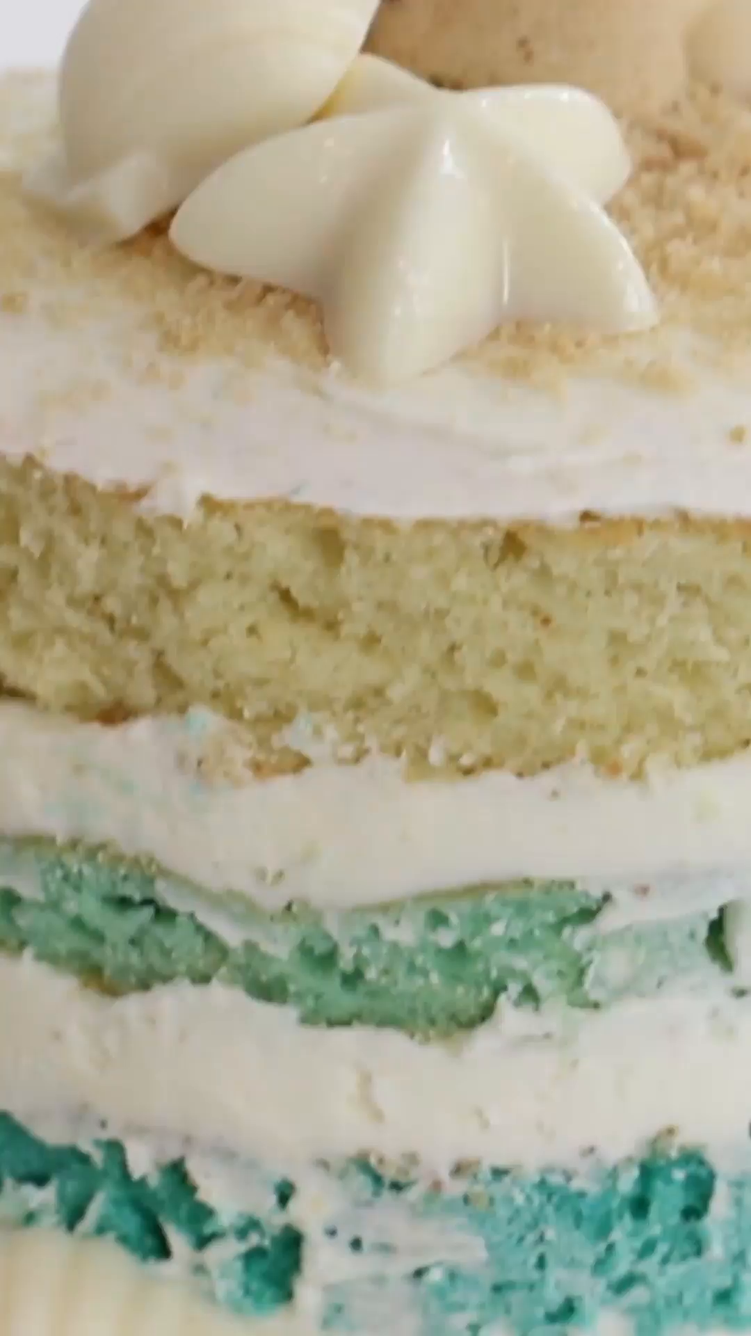 summer beach cake ~ recipe | tastemade