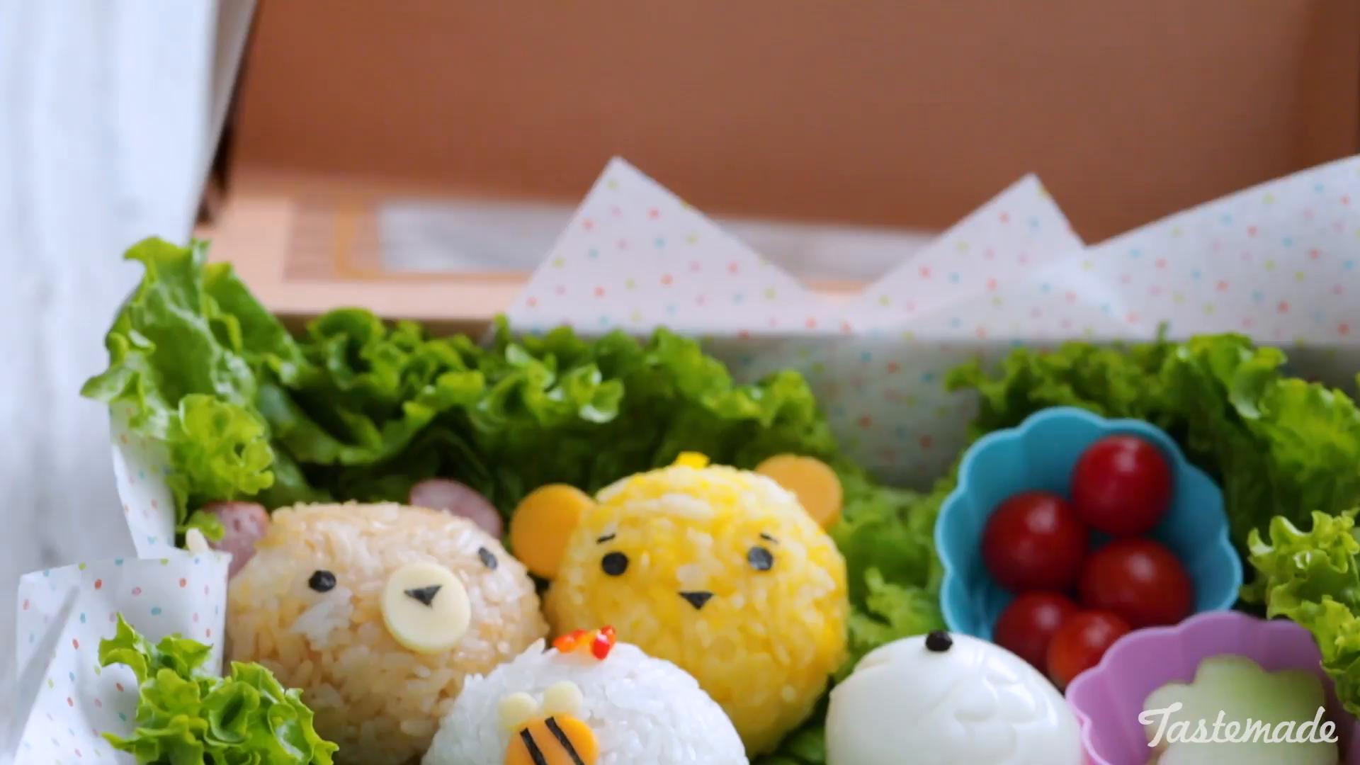 Bento Box Bears And Bees Recipe