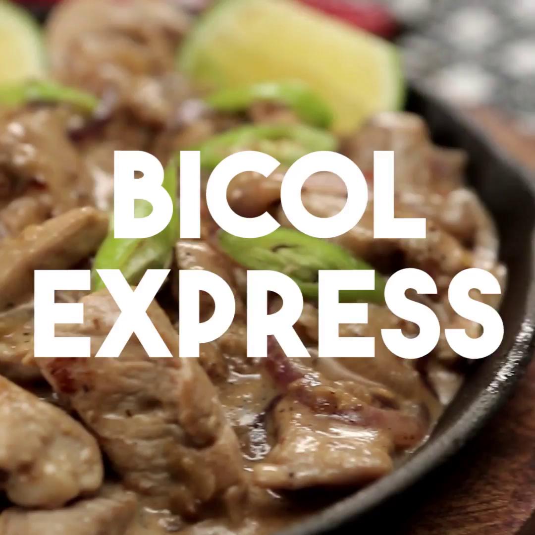 Bicol express filipino pork stew recipe tastemade forumfinder Gallery