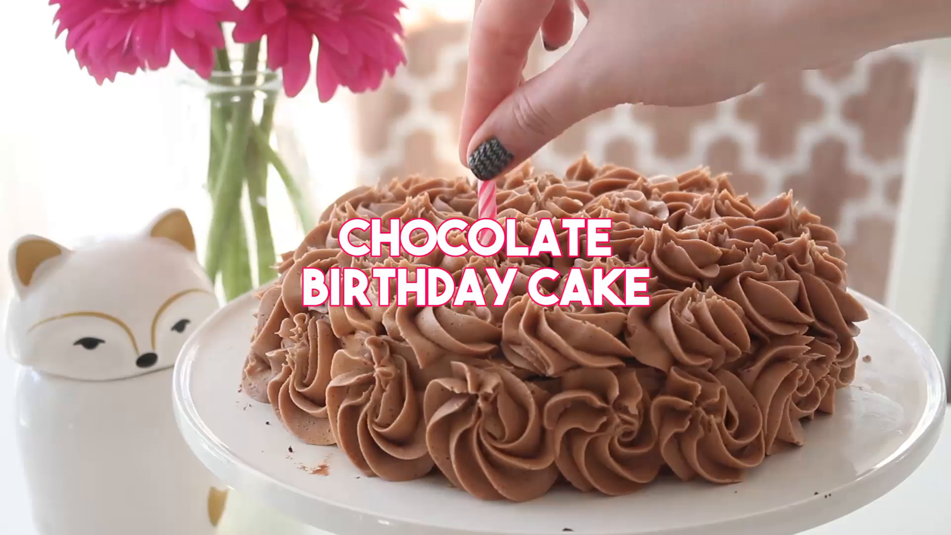 Chocolate Birthday Cake Recipe Tastemade