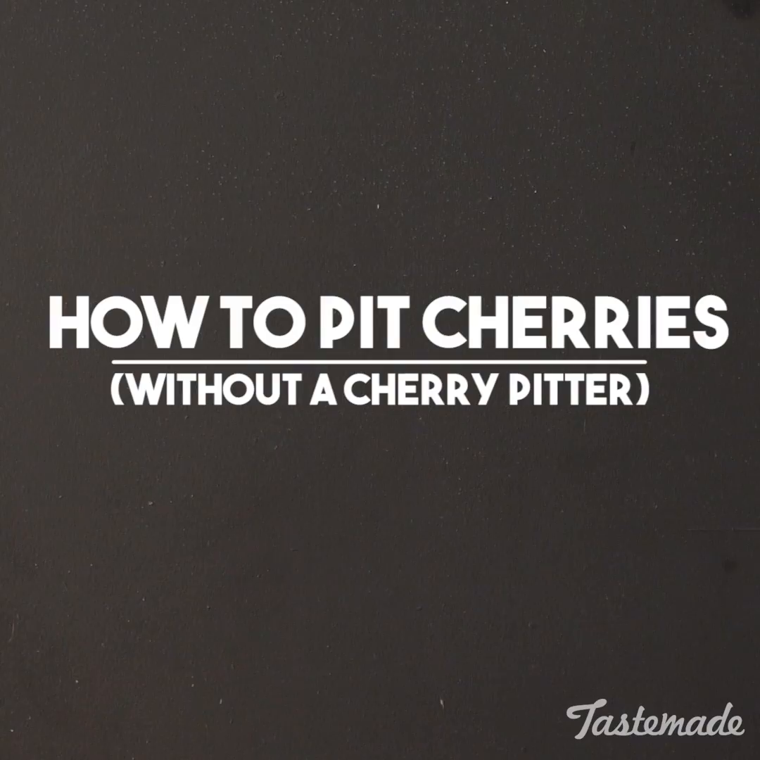 How to Pit Cherries | Tastemade