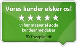 Vores kunder elsker os og giver Luxplus gode anmeldelser på Trustpilot