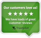 Rated 5 Star by our customers
