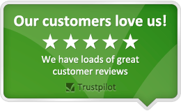 TrustPilot 5 star rating badge