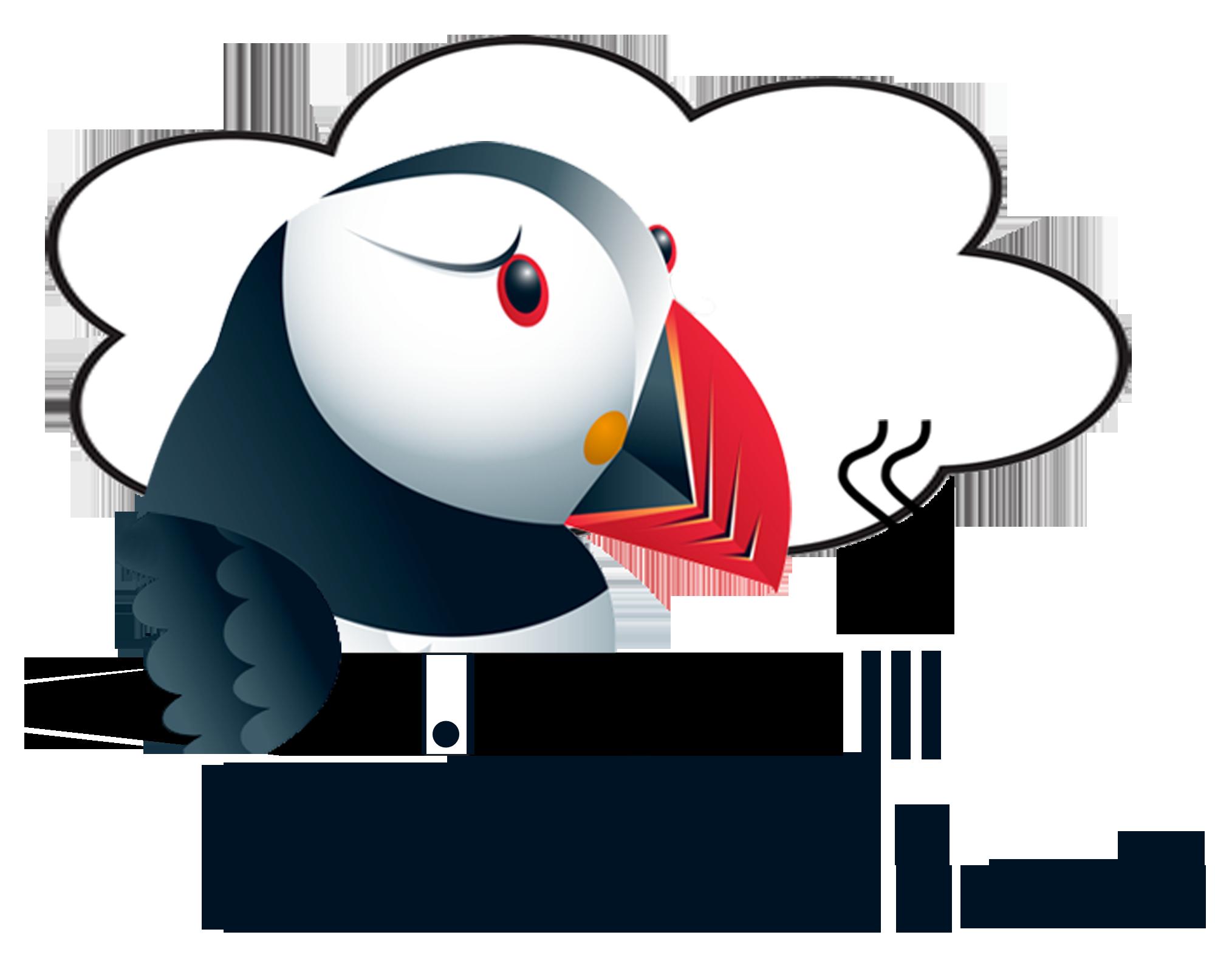 Puffin Clouds Logo
