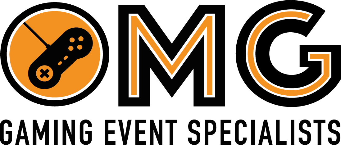 OMG - Gaming Event Specialists Logo