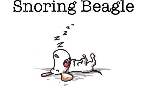 Snoring Beagle Logo