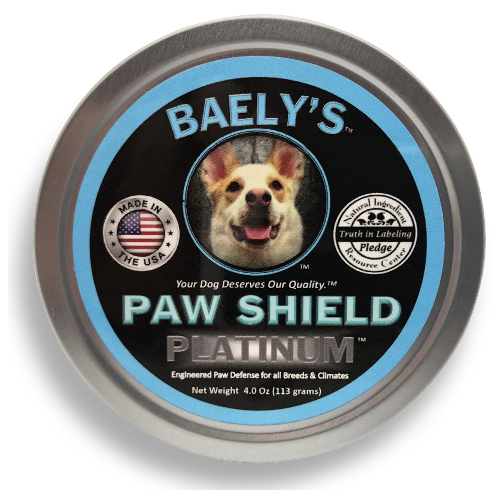 Baely's Paw Shield Logo