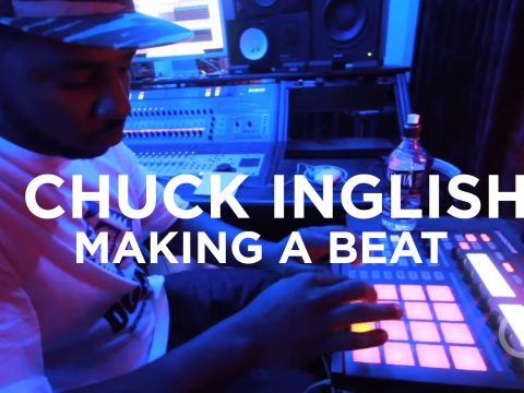 Chuck Inglish Making a Beat Truth Studios