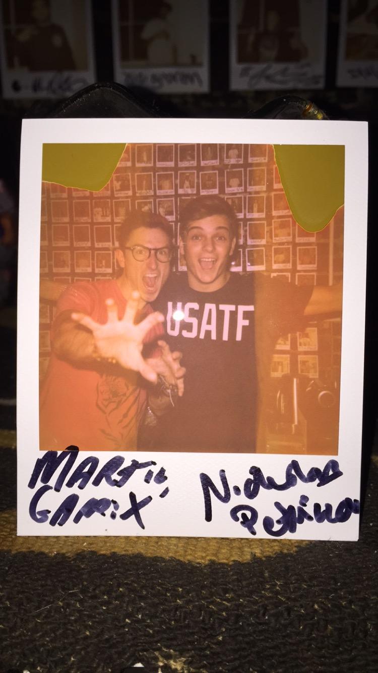 Martin and Nicholas at Truth Studios