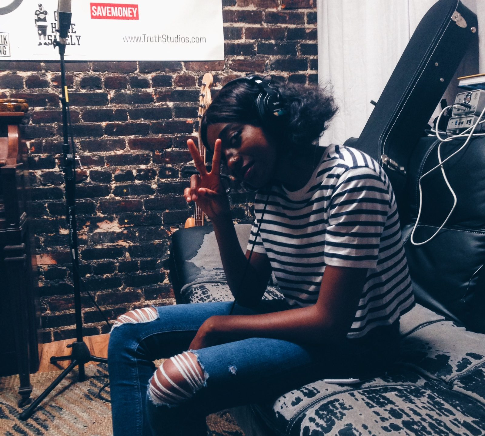 Little Simz Music Truth Studios Los Angeles